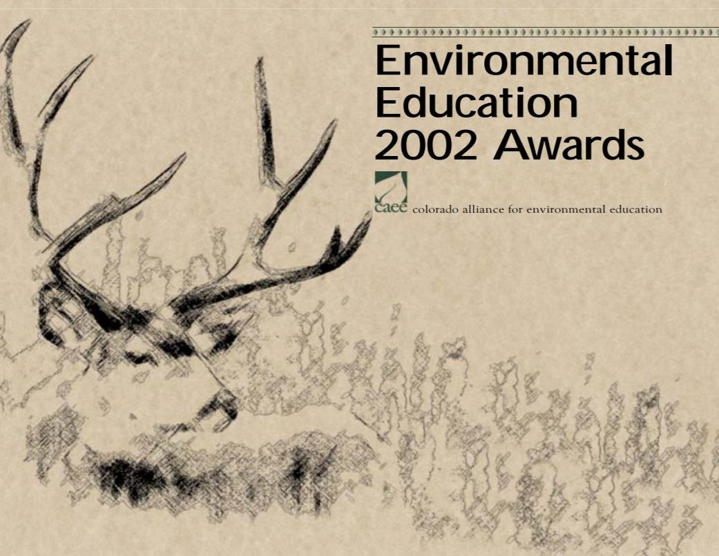 2002 EE Awards Booklet Cover